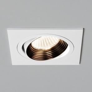 Einbaustrahler Aprilia Square Fire Rated, weiß, 1 x LED 7W,