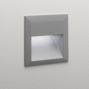 Tecla, 12 x 0,2W LED, silber, Breite ca 125m