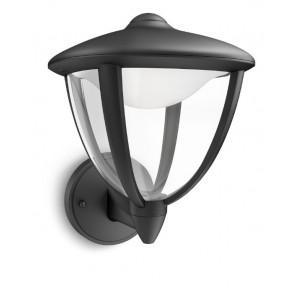 Robin Halterung unten Höhe 24 cm schwarz 1-flammig viereckig B-Ware
