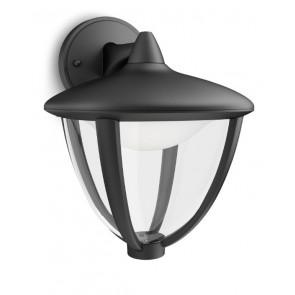 Robin, LED, Halterung oben, schwarz
