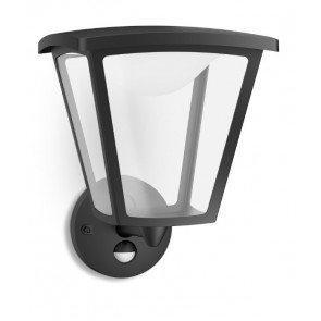 Cottage IR, LED, mit Bewegungsmelder, schwarz