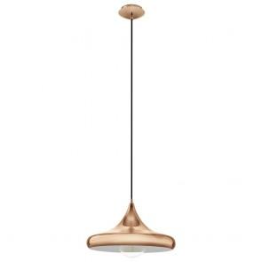 Coretto 2, Höhe 110 cm, Ø 40 cm, kupferfarben