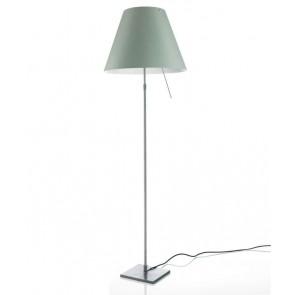 Costanza LED (ohne Schirm), Floor 120-160 cm, Alu