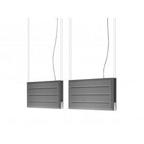 Diade Panele, 180 cm, weiß/schwarz