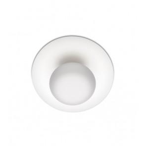 Funnel 2013, Ø 35 cm, DL-WL, 6 x LED 4,5W, weiss matt