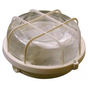Leuchten, sonstige RUND Leuchte + Schutzkorb, white