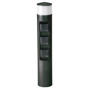Nr. 2202Farbe: schwarz, mit 3 x Steckdose,mit 1 x LED 10 W, 3000K