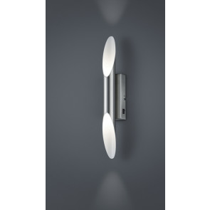 Bolero 38 x 6 cm nickel-matt mit Schalter