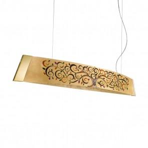 Barca PL, 24 Karat Gold, Glas, LED dimmbar, 2295.32.3/al99