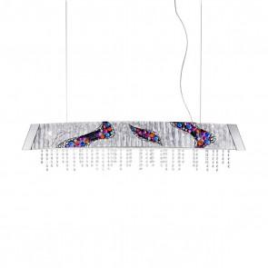 Barca PL, Chrom, Glas, LED dimmbar, 2295.32.5/ki50
