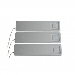 Cortina 3er-Set 20 cm metallisch 1-flammig rechteckig