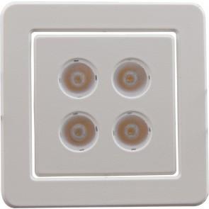 Heitronic LED EINBAUSTRAHLER OKLAHOMA 6,5W NICHIA