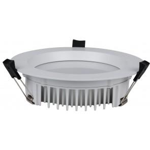 LED EINBAUSTRAHLER 25W IP54 RUND WEIß