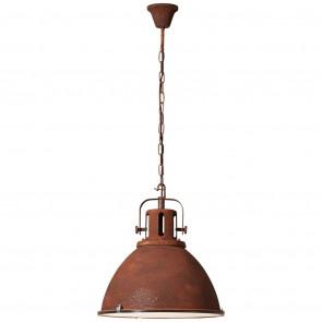 Jesper Ø 47 cm rostfarben 1-flammig rund