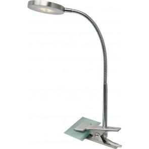 Deniz, LED, schwenkbar, mit Schalter, nickel-matt