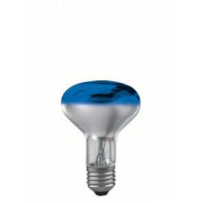 R80 E27 60W 8 cm, blau