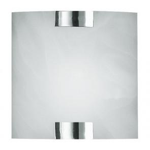 Marta 20 x 20 cm weiß/chrom