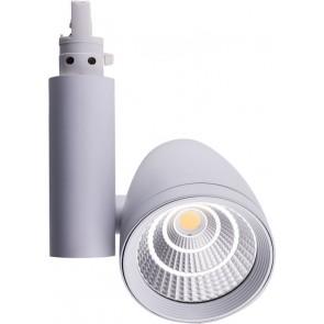 LED Schienenstrahler Raio 45W 45° warmweiß