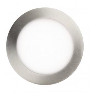 Einbaustrahler Ø 8 cm metallisch 1-flammig rund