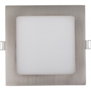 LED PANEL 26W ECKIG SATIN NICKEL EINSTELLBAR