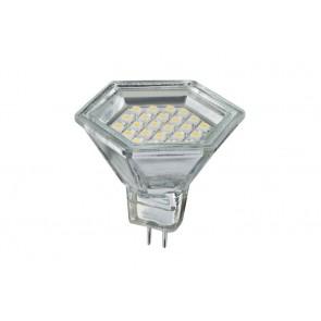 LED Reflektor Hexa, 2W GU5.3 12V, Warmweiß
