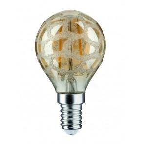 LED Tropfen 2,5W E14 230V Krokoeis Gold 2500K