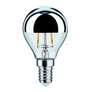 Paulmann LED Tropfen 2,5W E14 230V Kopfspiegel Silber 2700K