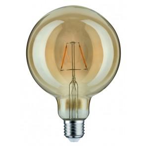 LED Globe 125 2,5W E27 230V Gold 1700K