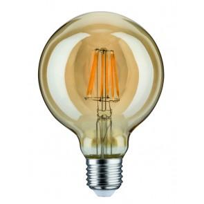 LED Globe 95 7,5W E27 230V Gold 2500K