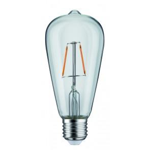 LED Rustika (ST64) 2,5W E27 230V Klar 1800K