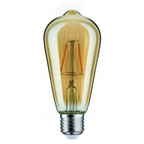 LED Rustika (ST64) 2,5W E27 230V Gold 1700K