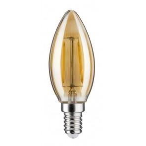 LED Kerze 4,5W E14 230V Gold 2500K dimmbar