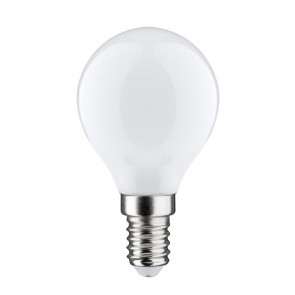 LED Tropfen 4,5W E14 230V Opal 2700K dimmbar