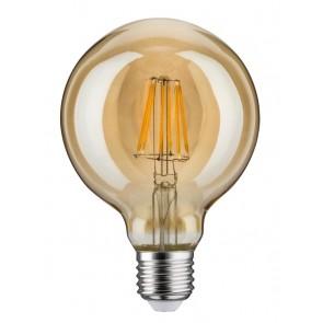 LED Vintage Globe 95 6W E27 230V Gold Dimmbar 1700K