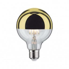 LED Globe 95 5W E27 230V Kopfspiegel Gold 2700K d