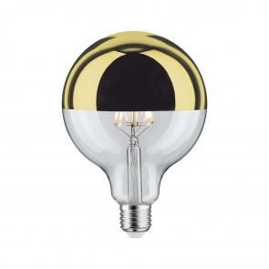 LED Globe 125 5W E27 230V Kopfspiegel Gold 2700K