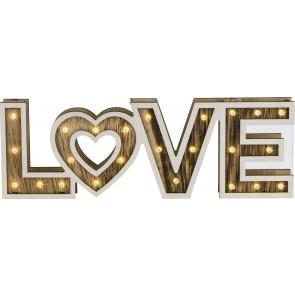 LOVE Tischleuchte  26xLED