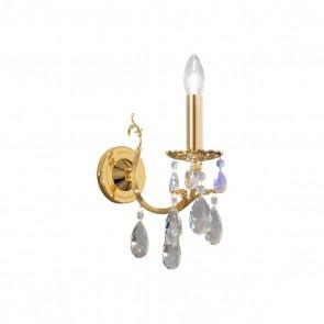 Victoria 2 WL, 24 Karat Gold, Kristall, E14, 3003.61.3.KoT