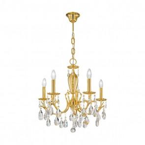 Victoria 2 Luster, 24 Karat Gold, Kristall, E14, 3003.85.3.KoT
