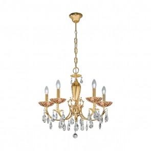 Victoria 2 Luster, 24 Karat Gold, Kristall, E14, 3003.85.3.KoT/tc40