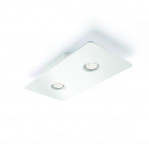Magna, LED, 2-flammig, Weiß