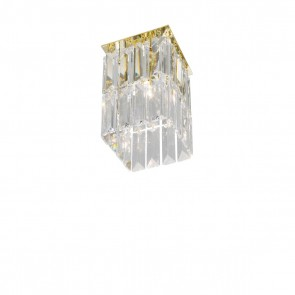 Prisma Spot, 24 Karat Gold, Kristall, G9, 314.11M.3