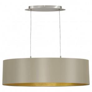 EGLO Maserlo, Länge: 78 cm, taupe-gold