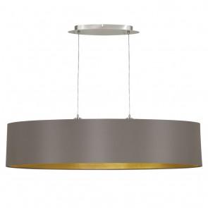 EGLO Maserlo, Länge: 100 cm, cappuccino-gold