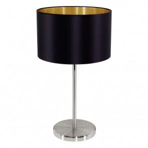 EGLO Maserlo, TL Ø 23 cm, H: 42 cm, schwarz-gold