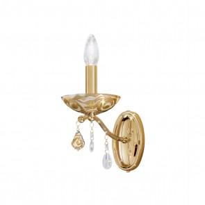 Carmen 2 WL, 24 Karat Gold, Kristall, E14, 3234.61.3.WKpT/aq21