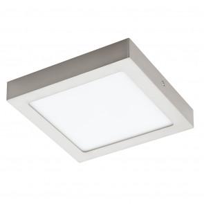 Fueva 1, LED, IP20, 22,5 x 22,5 cm, nickel-matt