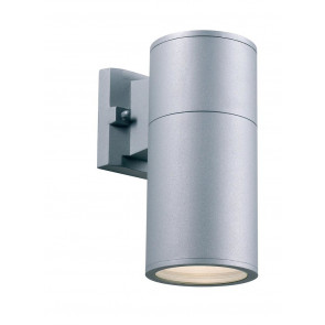 Arvid Höhe 23 cm metallisch 1-flammig zylinderförmig