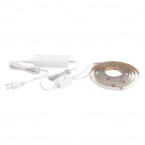 Connect LED-Stripe Länge 3 M weiß 1-flammig rechteckig