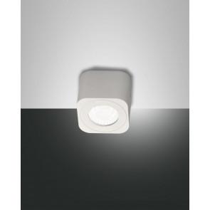 Palmi 6,5 x 6,5 cm weiß 1-flammig quadratisch